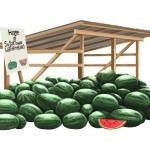 Sugartown Watermelon Stand - Beauregard Parish Louisiana